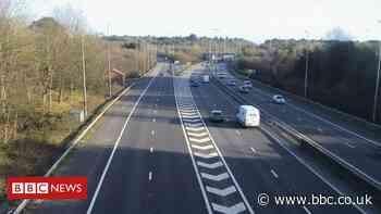 M27 crash: Police car and HGV in motorway collision