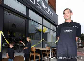 Look inside Milton Perk Coffee House a new coffee shop in Portsmouth - Portsmouth News