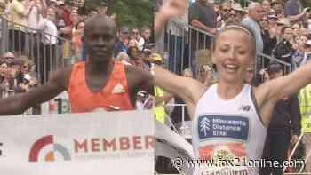 Milton Rotich, Dakotah Lindwurm Win 45th Annual Grandma's Marathon - FOX 21 Online
