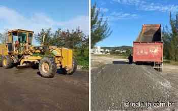 Prefeitura de Arraial do Cabo realiza manutenção de estrada após temporal   Arraial do Cabo   O Dia - O Dia