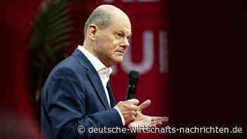 Scholz plant für nächstes Jahr 100 Milliarden Euro neue Schulden