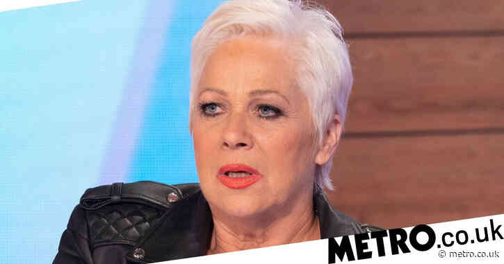 Denise Welch fumes as she's barred from travelling with sick father as football fans pack streets