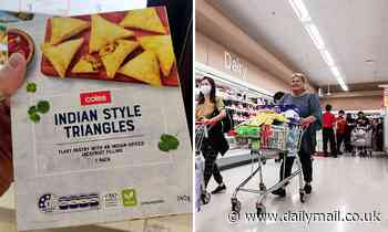 Angry shopper slams Coles for 'cultural appropriation' on Indian samosa packet