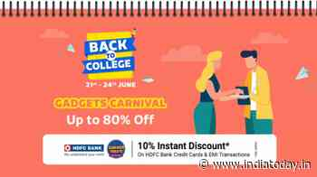 Flipkart Back to College gadgets carnival sale goes live, here are some popular offers - India Today