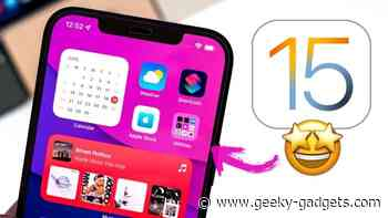iOS 15 beta 1 : Lets have another look (Video) - Geeky Gadgets