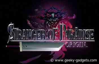 Stranger of Paradise Final Fantasy Origin demo revealed - Geeky Gadgets
