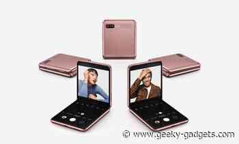 Samsung Galaxy Z Flip 3 launching in August - Geeky Gadgets