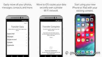 How to Transfer Contacts From Android to iPhone - Gadgets 360