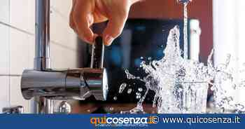 Cosenza, prevista riduzione dell'acqua per lavori di riparazione - Quotidiano online