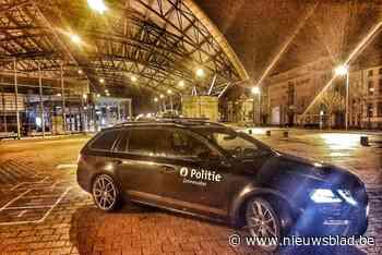 Inbrekers ontkomen aan politie<BR />