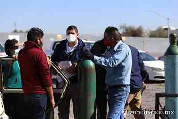 Restan 43 vales para tanque con oxígeno gratuito, en Celaya - Zona Franca