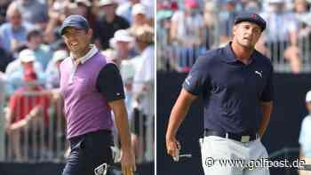 US Open Golf 2021: Rory McIlroy und Bryson DeChambeau sitzen Spitzentrio im Nacken - Golf Post