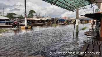Em Parintins, nível do Rio Amazonas chega na marca de 9,32 metros - Portal Tucumã