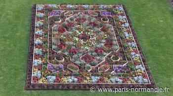 VIDÉO. Un tapis persan floral pour célébrer Flaubert au musée Victor Hugo de Villequier - Paris-Normandie