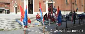Lissone: protesta in piazza dei lavoratori contro la cassa integrazione alla OEB Brugola, la risposta della azienda - Cronaca, Lissone - Il Cittadino di Monza e Brianza