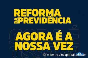 Rádio Capinzal - ACAERT lança campanha em apoio à Reforma da Previdência de Santa Catarina - Rádio Capinzal