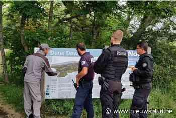 Politie Westkust patrouilleert in Frans natuurgebied met Franse collega's
