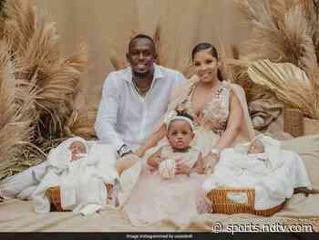 Usain Bolt Has Twin Boys, Their Names Take Social Media By Storm - NDTVSports.com