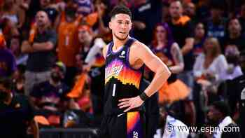 NBA playoffs 2021 - Devin Booker's scorching 40-point performance had social media on fire - ESPN
