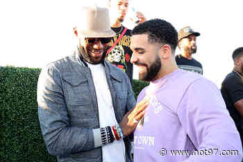 Social Media Believes Drake Is Shooting His Shot At LeBron James Jr.'s Teammates Mom - Hot97 - Hip Hop & R&B News