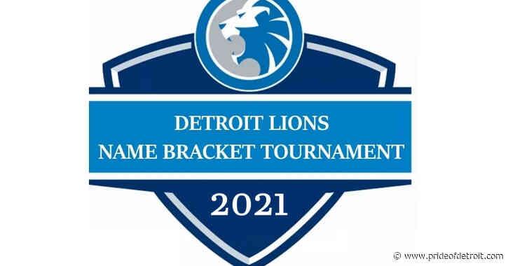 2021 Detroit Lions Name Bracket Tournament: The Field