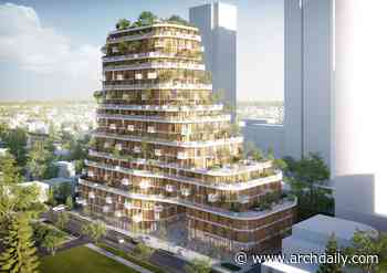 """Urban Agency Designs New """"Vancouver Forest"""" Block in Canada - ArchDaily"""