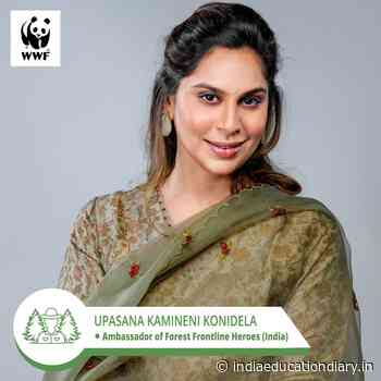 """Upasna Kamineni takes on a new role as """"Ambassador of Forest Frontline Heroes"""" at WWF India - India Education Diary"""