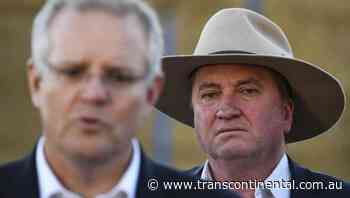 Net zero 'crucial' for Morrison government - The Transcontinental