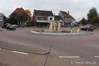 Na bouwvakantie start herinrichting rotonde centrum Kinrooi - Het Belang van Limburg