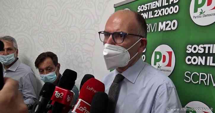 """Amministrative, Letta: """"Cercheremo di allargare il più possibile le nostre coalizione per battere le destre"""""""