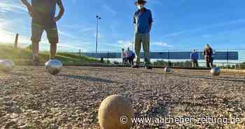 Neue Boule-Anlage: In Roetgen wird nun das Schweinchen gejagt - Aachener Zeitung