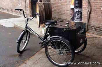 Police seek witnesses after downtown Victoria company's tricycle stolen – Victoria News - Victoria News