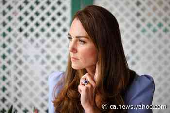 Duchess of Cambridge says pandemic has been 'tough and frightening' for families with ill children - Yahoo News Canada