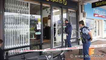Seventh smash-and-grab burglary in five years for Cambridge sportswear store - Stuff.co.nz