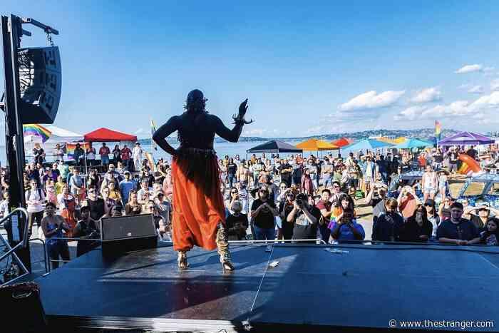 The Washington Pride Fest That Takes Place on a Beach