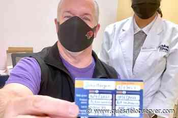 B.C. premier gets 2nd dose of AstraZeneca COVID-19 vaccine - Quesnel - Cariboo Observer