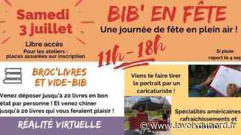 Saint-Laurent-Blangy se met à l'heure de Bibliothèque en fête - La Voix du Nord