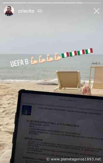 Criscito studia da allenatore: il capitano del Genoa nel corso Uefa B - Pianetagenoa1893.net