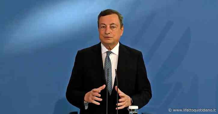 """Europei, Draghi: """"Mi adopererò perché la finale non si faccia in un Paese dove i contagi stanno crescendo rapidamente"""""""