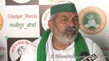 Wrong to blame farmers for someone's action: Tikait on Bahadurgarh incident