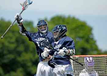 Boys' lacrosse: Yarmouth shakes off Marshwood to win Class B title - Press Herald