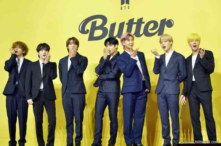 BTS' 'Butter' Tops Hot 100 For Fourth Week, Becoming Group's Longest Leading No. 1