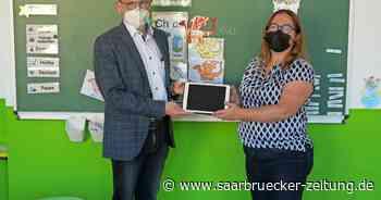 Gemeinde Schiffweiler stellt Grundschulen Tablets für bedürftige Schüler - Saarbrücker Zeitung
