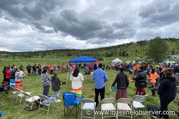 """""""We are all one people."""" Honouring residential school victims and survivors - Quesnel - Cariboo Observer"""