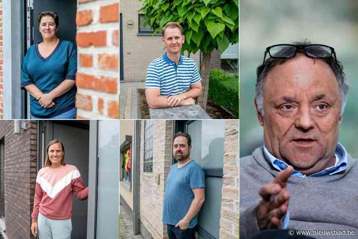 """Buren zien Marc Van Ranst na 38 dagen in safehouse weer opduiken: """"Vooral blij voor zijn vrouw en zoon"""""""