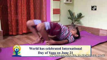 Meet Tripura's 9-year-old Yoga enthusiast