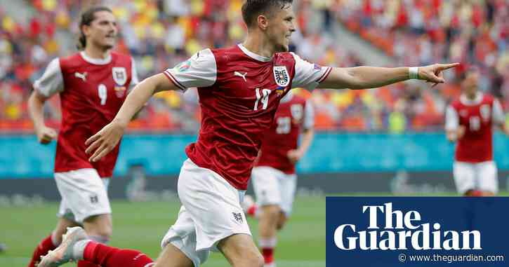 Christoph Baumgartner strike sinks Ukraine and puts Austria in last 16