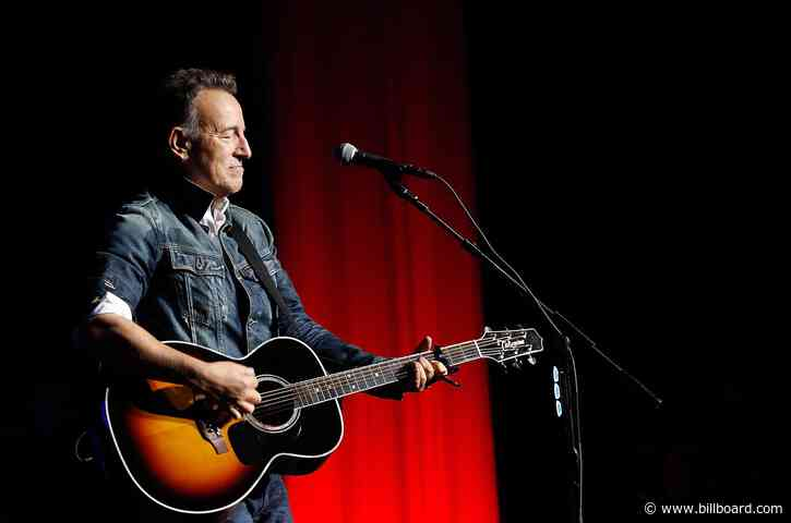 'Springsteen on Broadway' Does About Face on AstraZeneca Vaccine