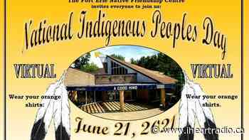 Fort Erie Native Friendship Centre hosts National Indigenous Peoples Day activities today - Newstalk 610 CKTB (iHeartRadio)
