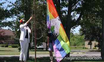 Two-spirit Pride Flag raised at Fort Erie Native Friendship Centre - Niagarathisweek.com